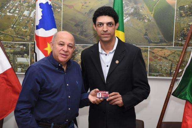 Luiz Thiago Rodrigues foi empossado membro efetivo de Os Independentes(Diego Rodrigues)