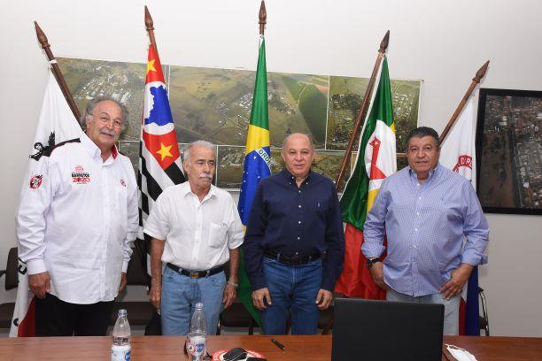 Mussa Calil Neto, José Carlos Branco, Jeronimo Muzetti e Hussein Gemha Junior(Diego Rodrigues)